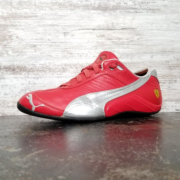 Puma Other - Mens Puma Ferrari Shoes Sz 10 43 Used Red Leather